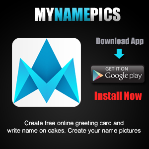 birthdaynamepix Android App For Generating Love Greetings