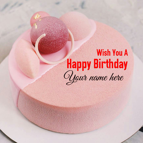 Wish You A Happy Birthday Cake With Name For Love