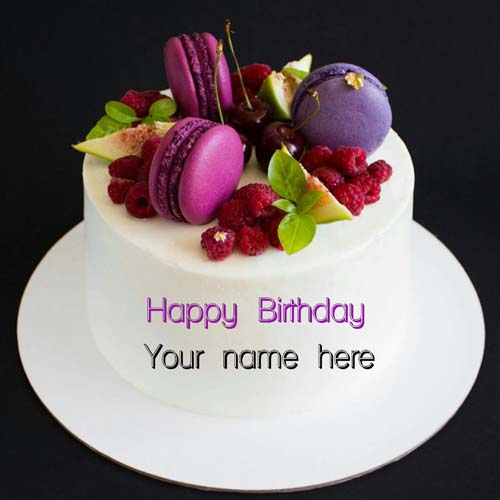 Happy Birthday Wishes Cake For Brother With Your Name