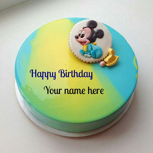 Mickey Mouse Birthday Cake For Kids