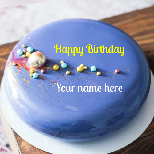 Creative Birthday Cake With Name For Husband