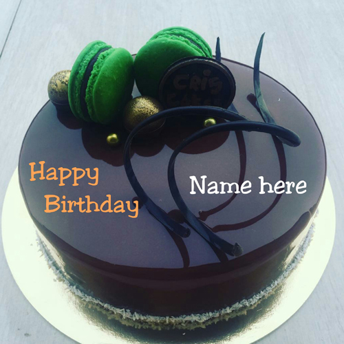 Happy Birthday To You Chocolate Cake With Name On It