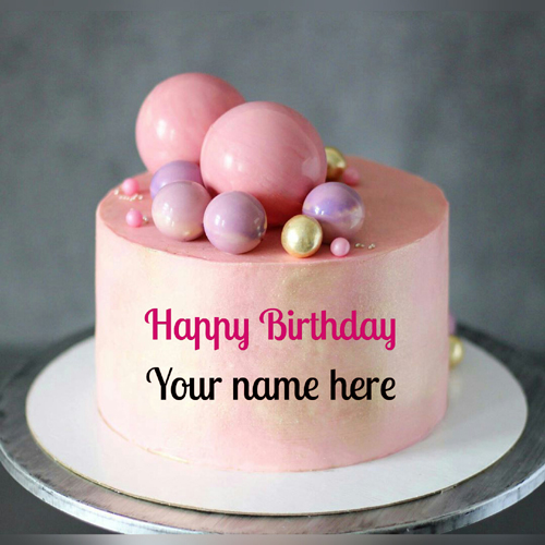 Write Name On Special Birthday Cake For Girlfriend