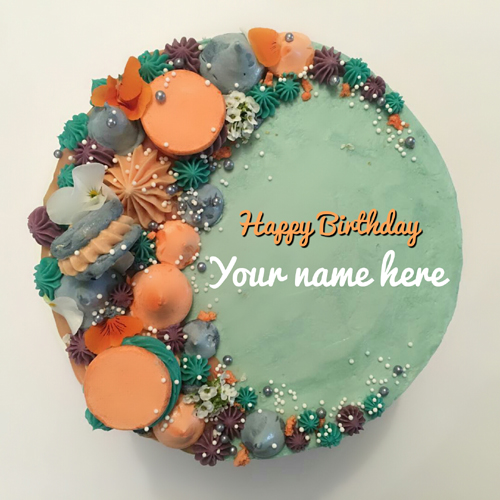 Multipurpose Beautiful Birthday Wishes Cake With Name