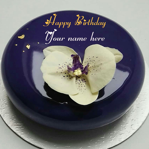 Write Name On Happy Birthday Wishes Cake For Love