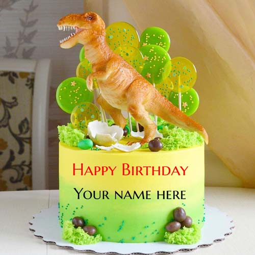 Write Your Name On Kids Birthday Wishes Cakes Pictures