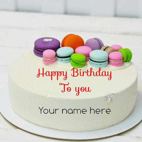 Make Your Personalized Cake Here