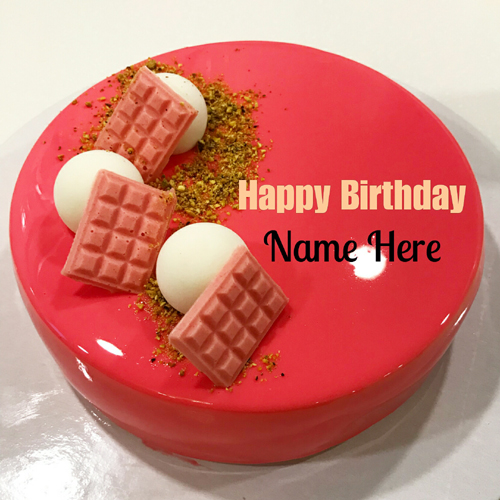Write Name On Birthday Cake For Friend