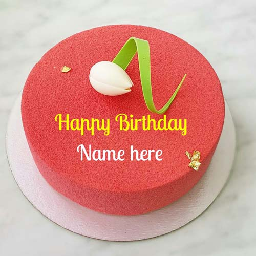 Happy Birthday Wishes Name Cake For Dear Mom