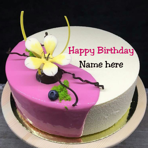 Birthday Cake With Name On It For Dear Wife
