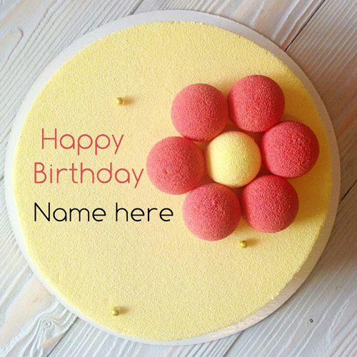 Write Mother Name On Velvet Birthday Cake